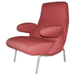 """Carboni for Arflex """"Dolphin"""" Lounge Chair, Italy, 1950s"""