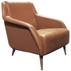 Carlo De Carli Lounge Chair for Cassina, Model 802