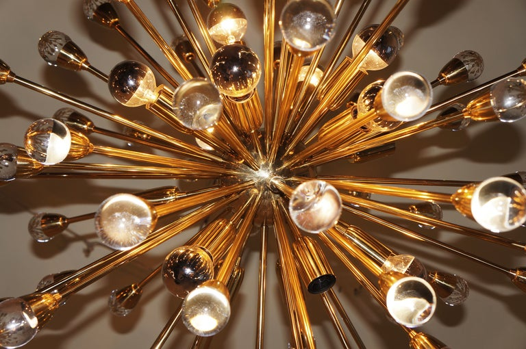 Dramatic Italian Sputnik Chandelier 3