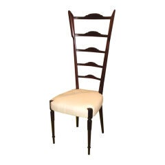 Elongated and elegant Italian 50's Chiavari chair