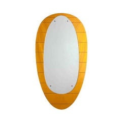 Grand Crystal Art mirror with golden frame