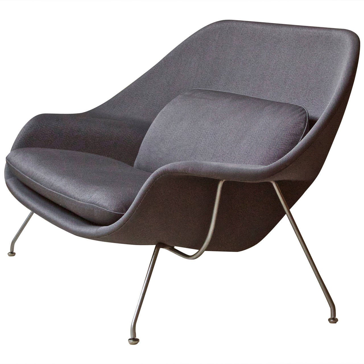 Rare and Early Womb Chair by Eero Saarinen for Knoll