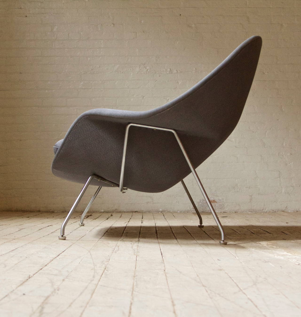 Mid-Century Modern Rare and Early Womb Chair by Eero Saarinen for Knoll