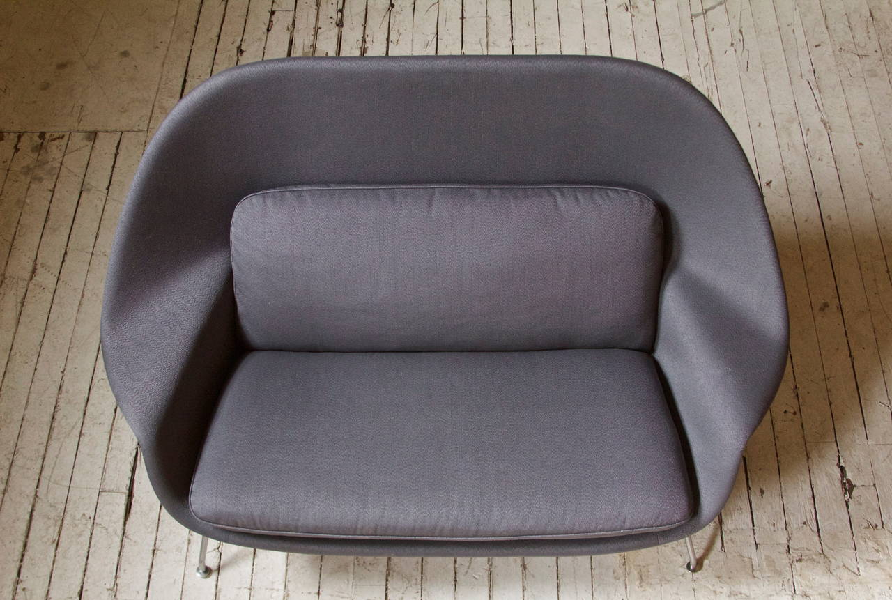 American Rare and Early Womb Chair by Eero Saarinen for Knoll