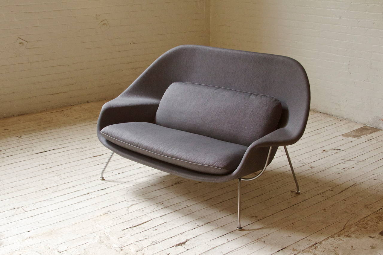 Rare and Early Womb Chair by Eero Saarinen for Knoll In Excellent Condition In Brooklyn, NY