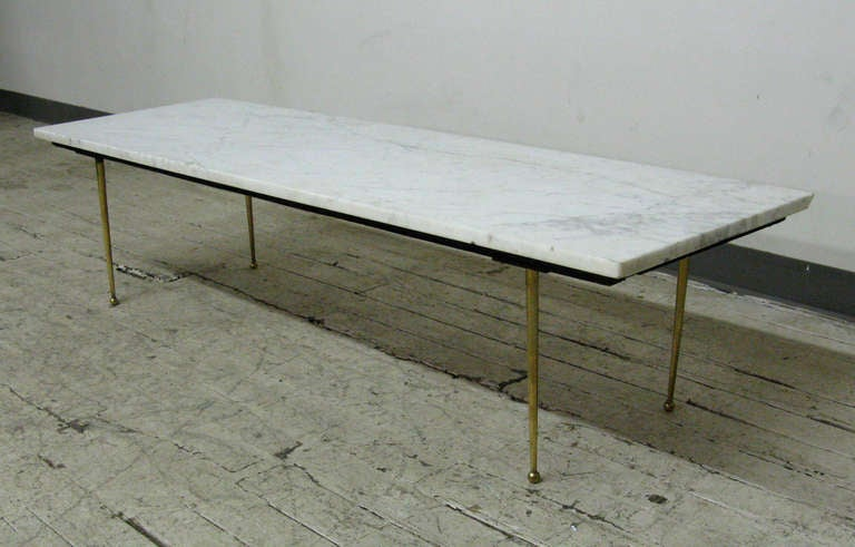 1960s Modern Italian Marble Coffee Table At 1stdibs