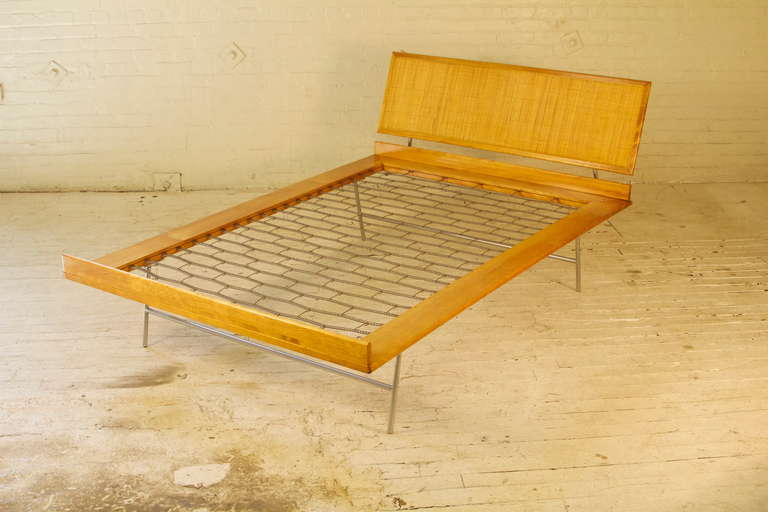 Mid-20th Century Thin Edge Bed By George Nelson