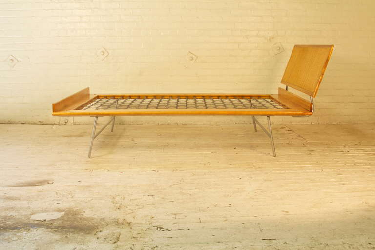 Thin Edge Bed By George Nelson In Excellent Condition In Brooklyn, NY
