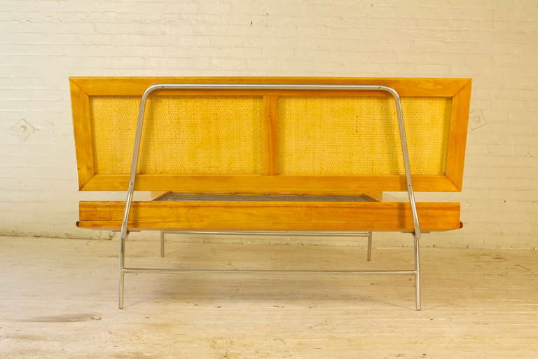 Mid-Century Modern Thin Edge Bed By George Nelson