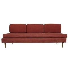 Mid-Century Modern Armless Upholstered Divan