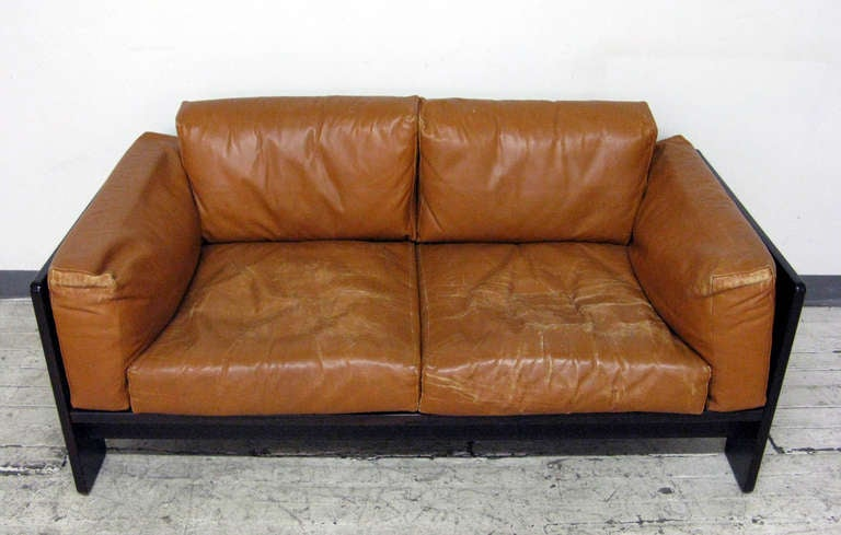 midcentury bastiano sofa by tobia scarpa at 1stdibs. Black Bedroom Furniture Sets. Home Design Ideas