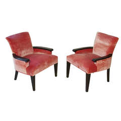 Pair of Armchairs attributed to John Hutton for Donghia