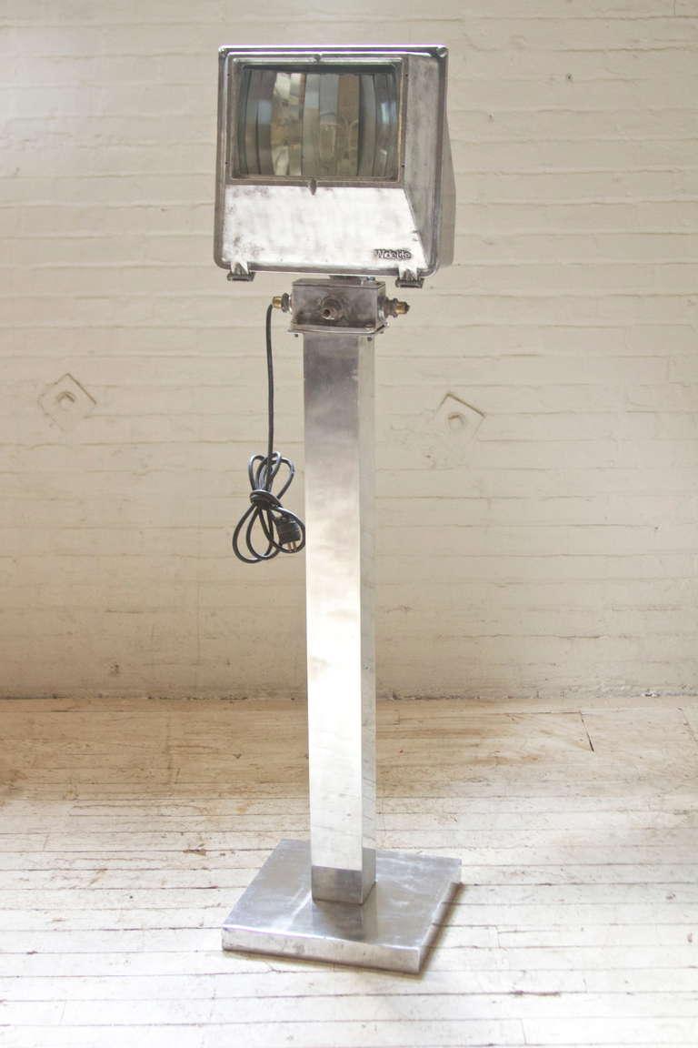 this early vintage industrial widelite floor lamp is no longer. Black Bedroom Furniture Sets. Home Design Ideas