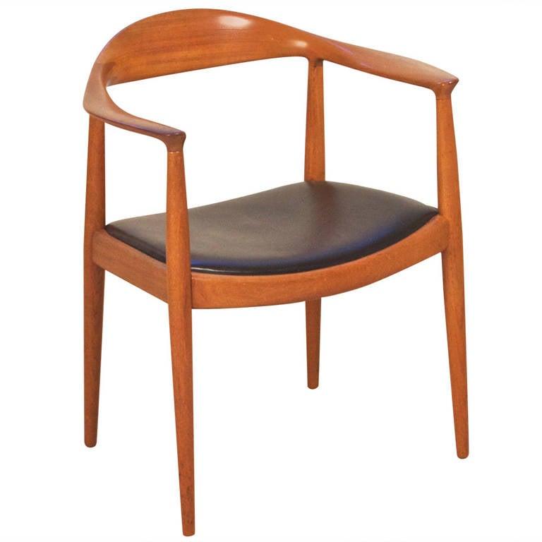 Hans Wegner Round Chair for Johannes Hansen