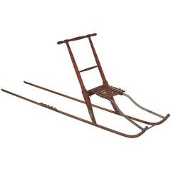 "Vintage ""The Kicker"" Swedish Kicksled"