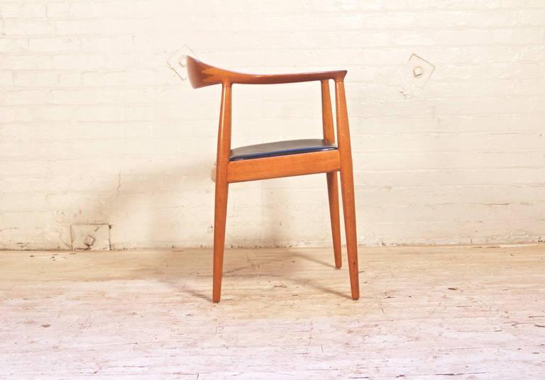 Danish Hans Wegner Round Chair for Johannes Hansen