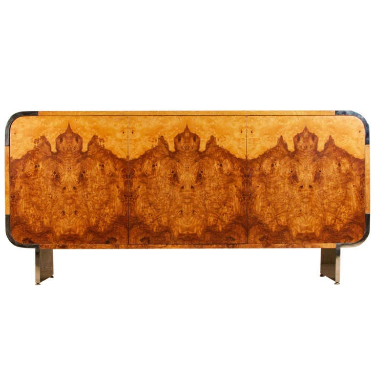 Stunning Burlwood Sideboard by Pace Collection