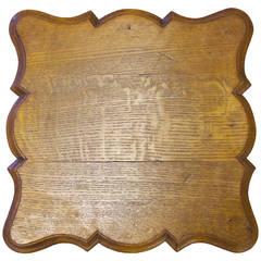 French Oak Low Table, Regence Style