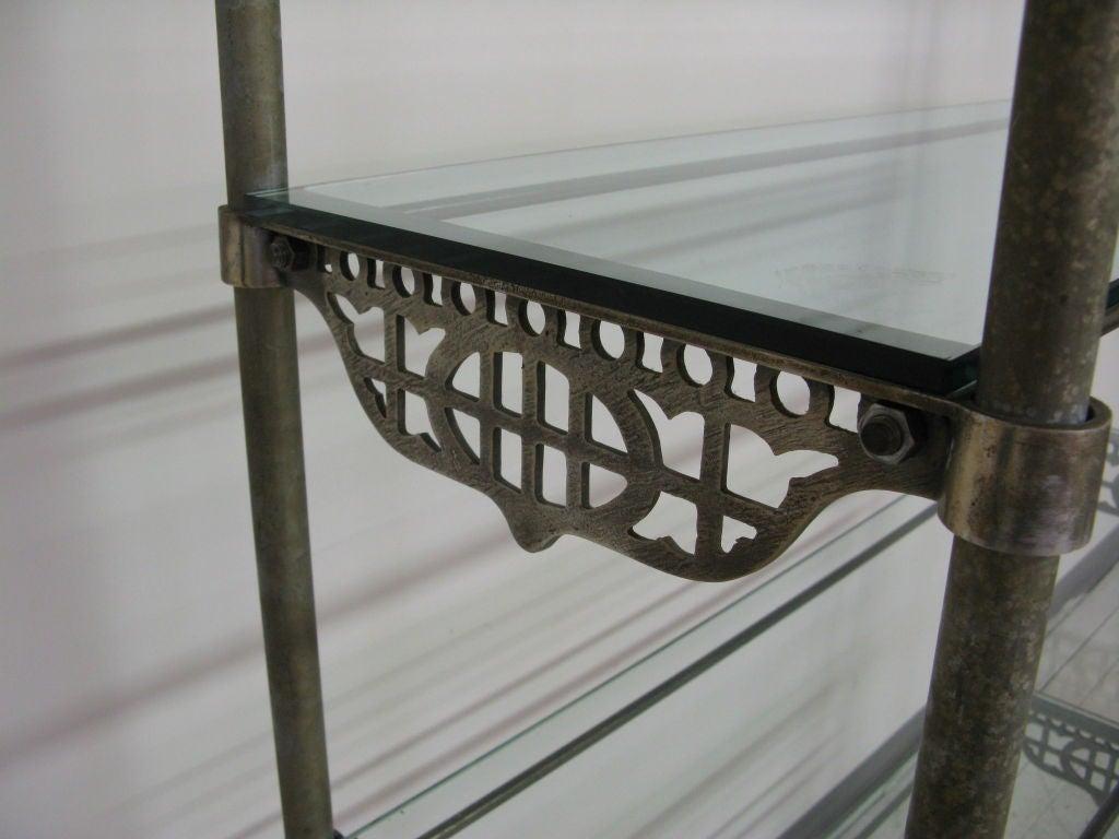 Industrial metal etagere at 1stdibs - Montant etagere metal ...