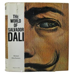 """The World of Salvador Dali"" Book"