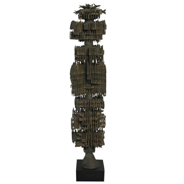 modern metal sculpture. Black Bedroom Furniture Sets. Home Design Ideas