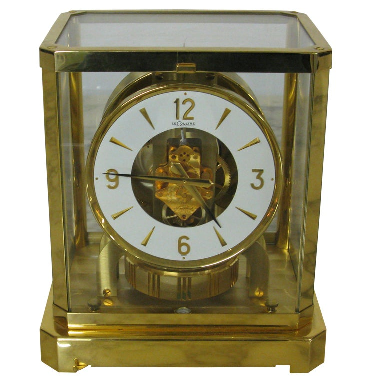 Jaeger Le Coultre Atmos Clock At 1stdibs