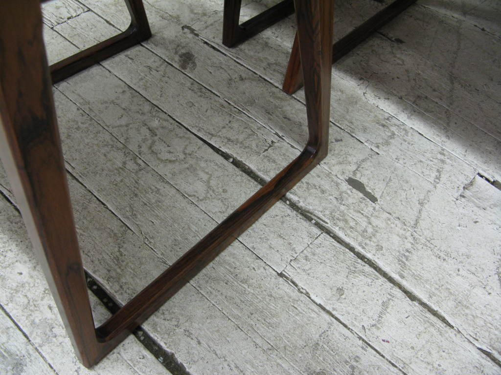 Rosewood Set of 10 Dining Chairs by Arne Vodder