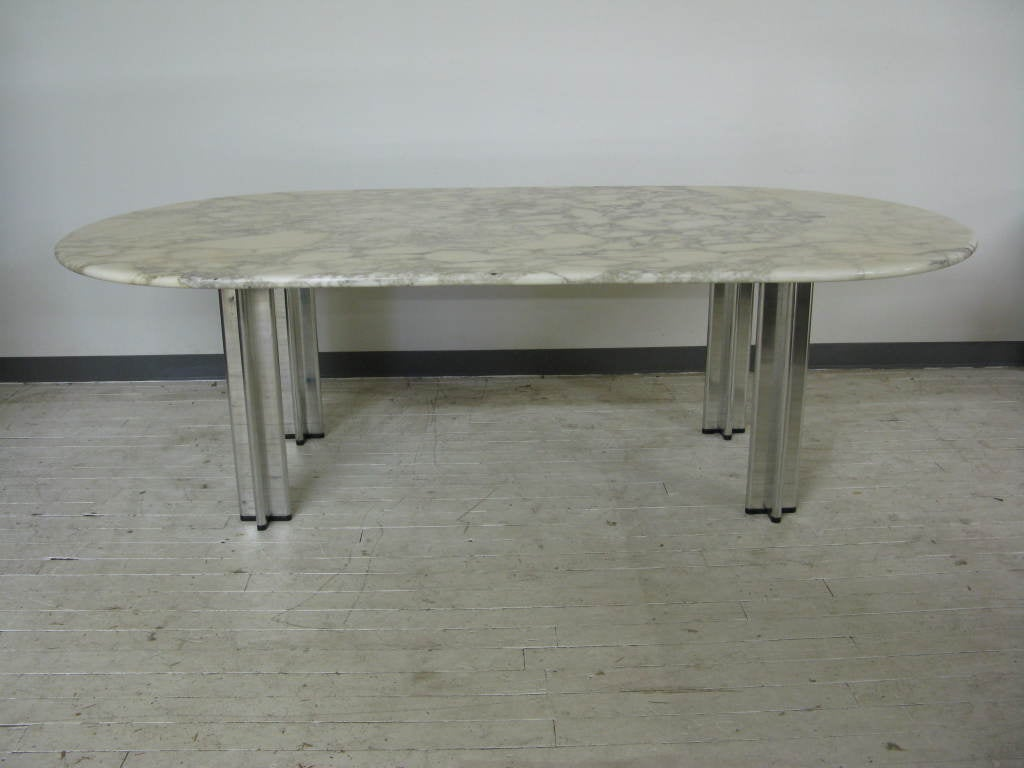 Marble top table - Marble Top Table By Pascal Mourgue For Knoll 2