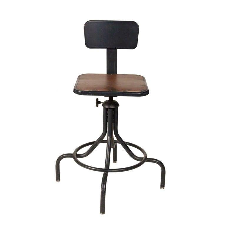 Codeartmediacom Drafting Desk Chair Industrial