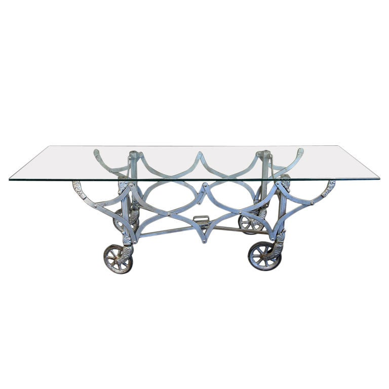 Graceful Fold Up Coffee Table At 1stdibs