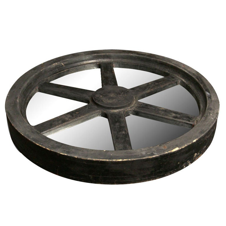 Wagon Wheel Coffee Table At 1stdibs