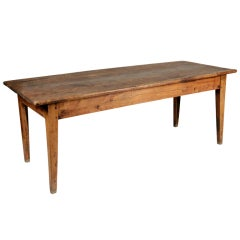 French Lindenwood Dining Farm Table