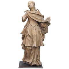 Italian 19th Century Carved Statue