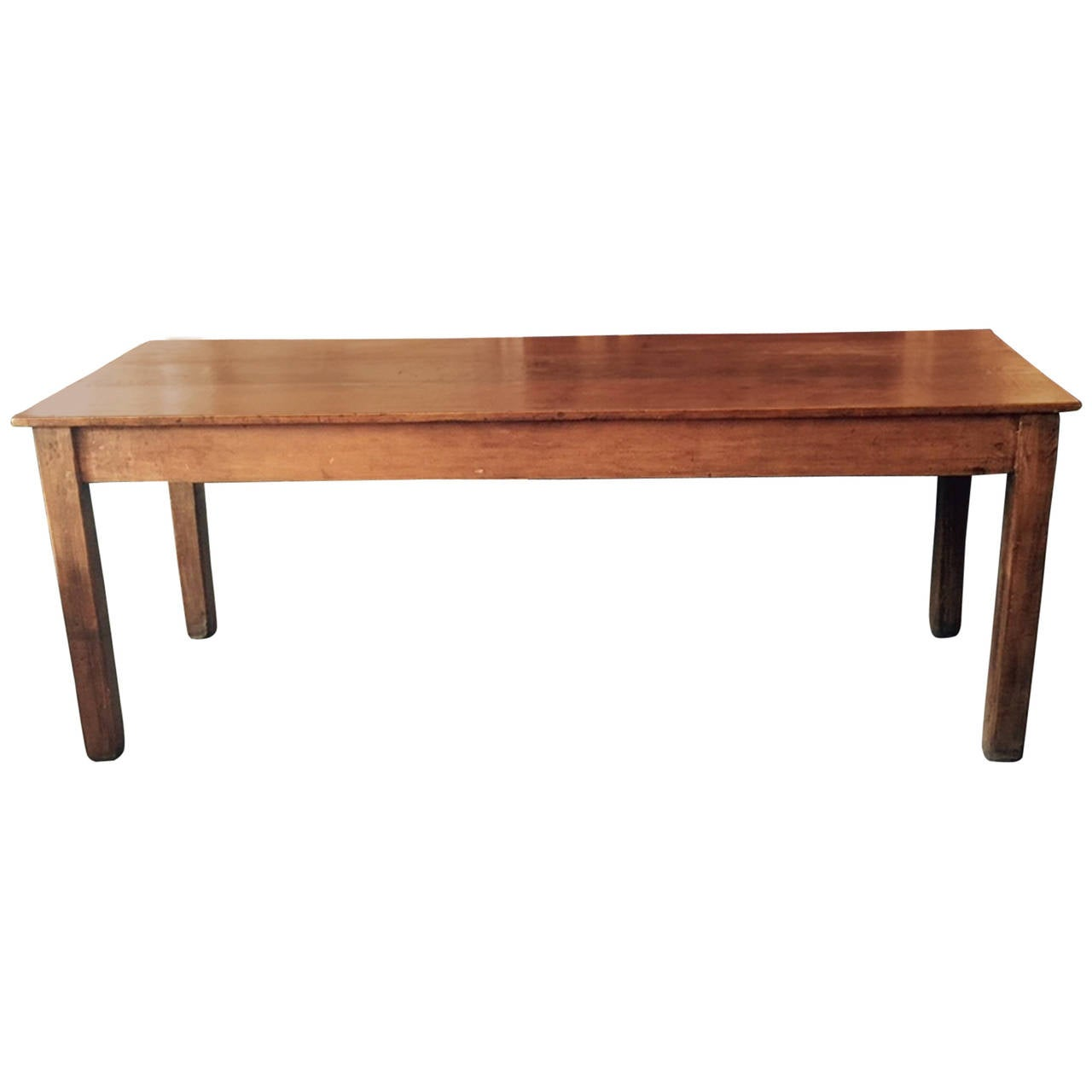 Rustic Italian Wood Farm Table Of Pine Early 20th Century