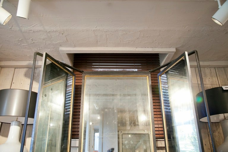 Triple Panel Full Length Mirror At 1stdibs
