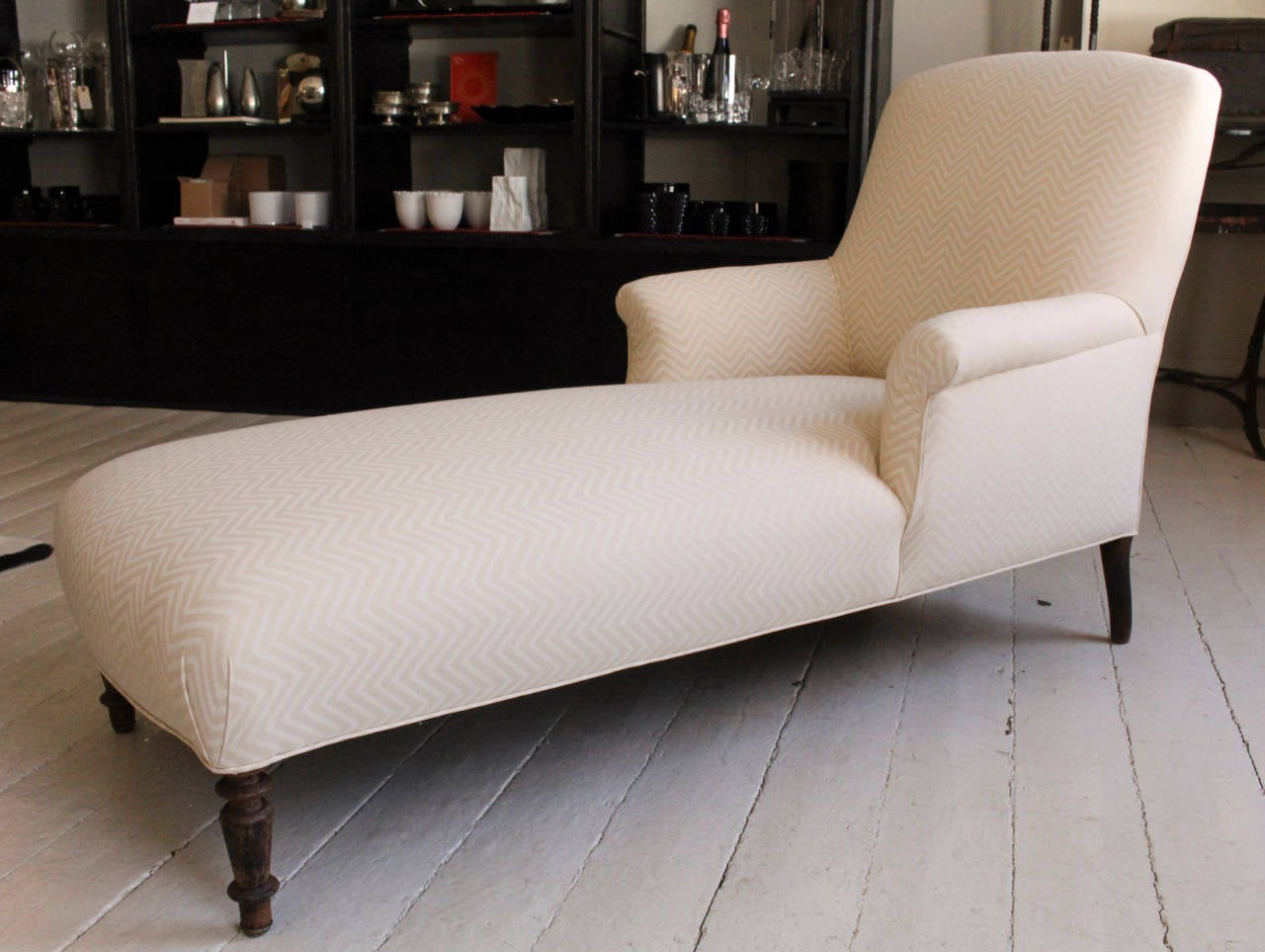Napoleon iii chaise longue at 1stdibs for 1 zitsbank met chaise longue