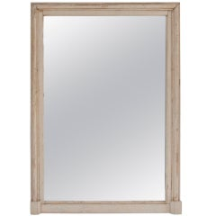 Oversized Early 20th Century Painted Frame with Mirror