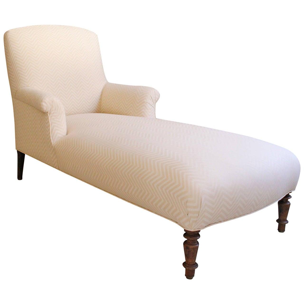 napoleon iii chaise longue at 1stdibs. Black Bedroom Furniture Sets. Home Design Ideas