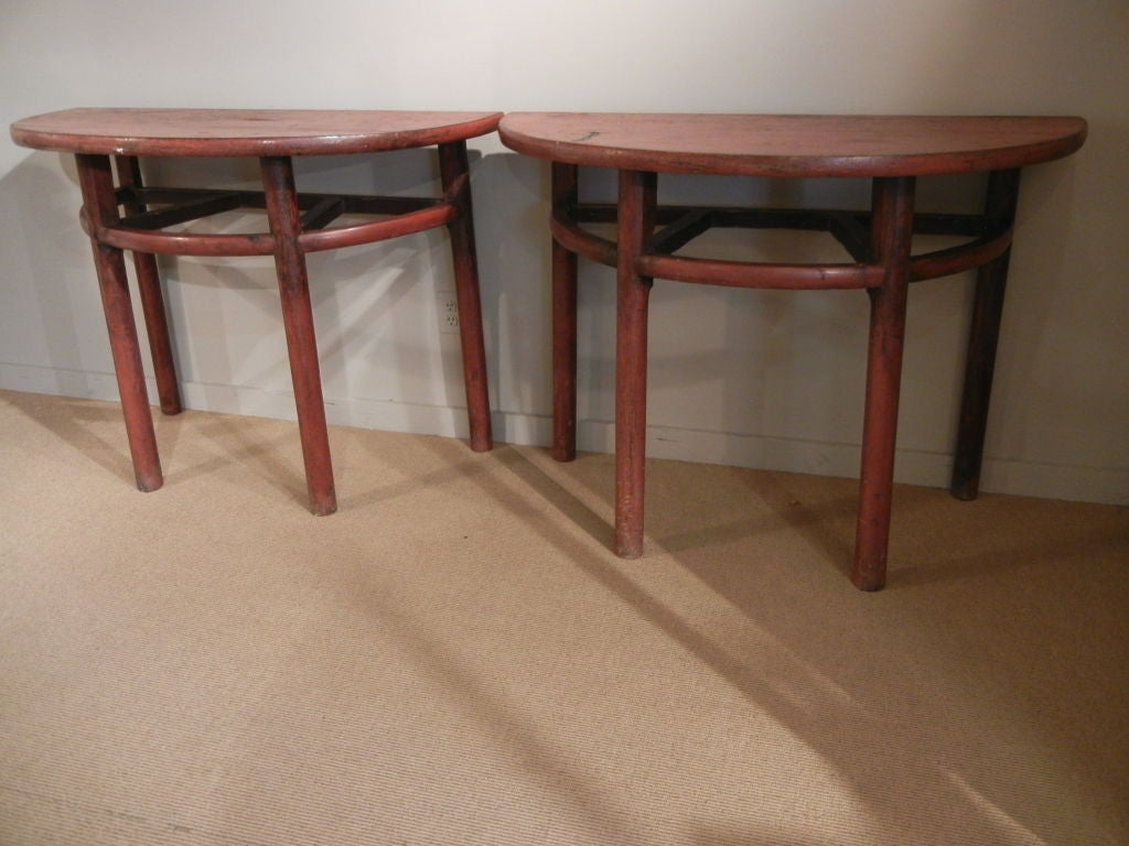 this pair of demi lune tables is no longer available
