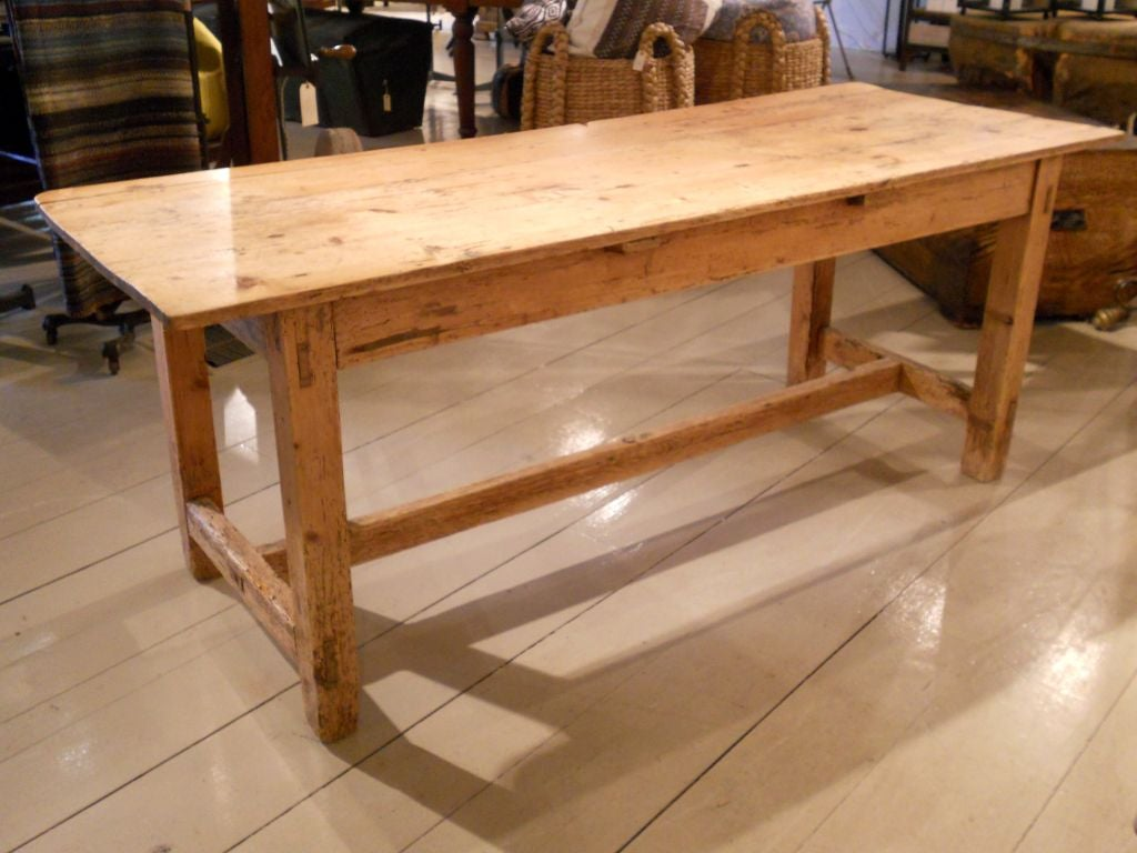 Early pine table at 1stdibs for Table in table
