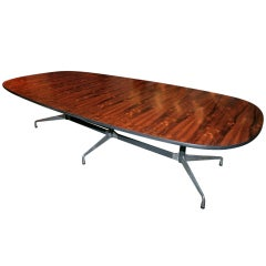 Rosewood Dining Table by Charles and Ray Eames for Herman Miller