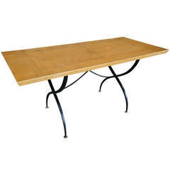 Parchment Dining Table by Arturo Pani