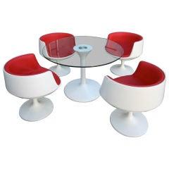 70's Italian Dining Set