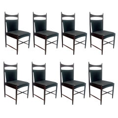 "Set of Eight ""Cantu"" Chairs by Sergio Rodrigues"