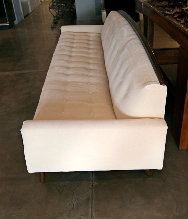 Late 20th Century 1970s Mohair Sofa Attributed to Adrian Pearsall