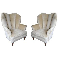 Pair of 1950's Arturo Pani Lounge Chairs