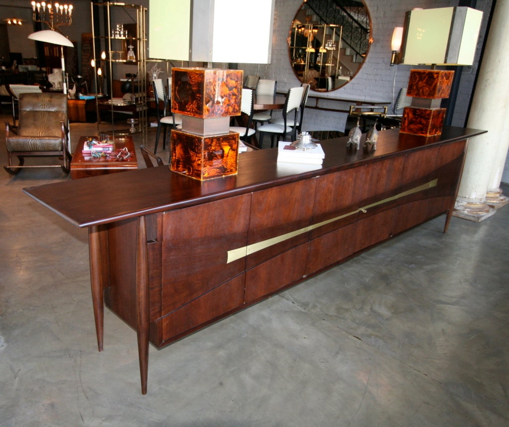 1950s Dining Room Credenza Attributed To Roberto And Mito