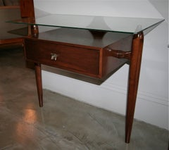 Pair of 1960s Nightstands by Giuseppe Scapinelli