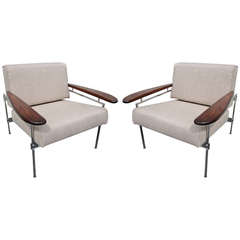 Pair of Sergio Rodrigues Beto Chairs