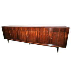 Long Brazilian Jacaranda Sideboard